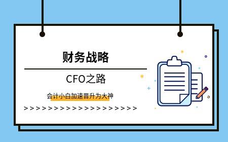CFO之路——02财务战略