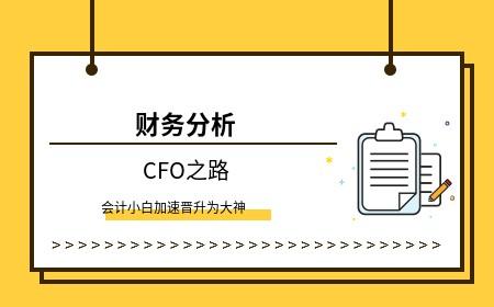 CFO之路——05财务分析