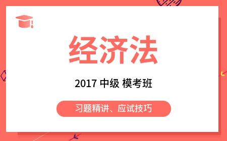 2017《中级经济法》模考班
